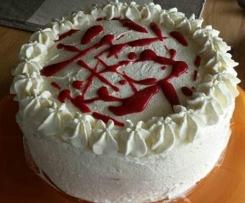 Himbeer - Marscapone - Torte