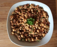 Kichererbsensalat Low Carb