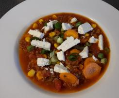 Chili con Carne mit Feta *All in one*