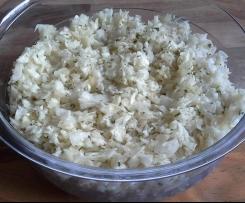 Krautsalat ganz schnell und super lecker