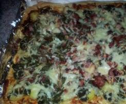 Grünkohlpizza