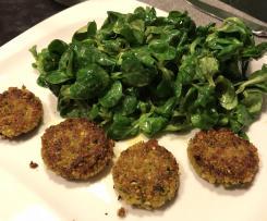 Honig Senf Dressing Salat Feldsalat