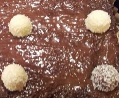 Kokos-Schokoladen-Kuchen