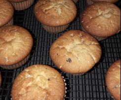 Marzipan Muffins