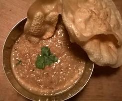Urid Daal, indisches weißes Bohnencurry
