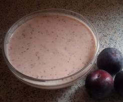Pflaumen-Joghurt-Dessert