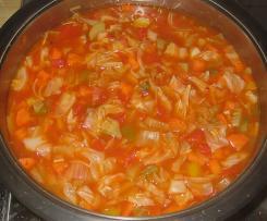 Wundersuppe / scharfe Gemüsesuppe