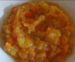 Möhren-Steckrüben-Kartoffel Eintopf