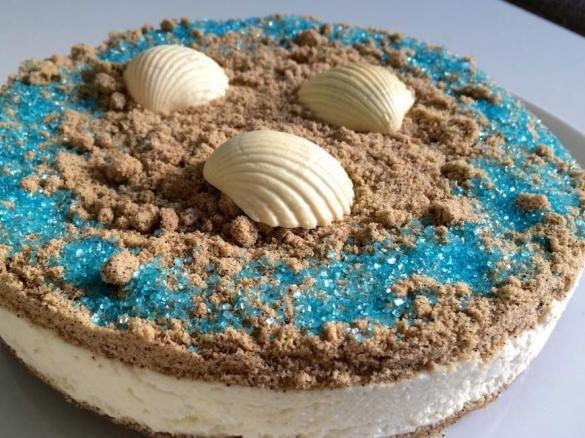 The Beach Sand Kokos Creme Torte Von Sundnes Ein Thermomix