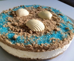 The Beach - Sand Kokos Creme Torte