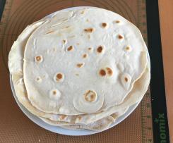 Tortilla / Weizenmehlfladen / Wrap