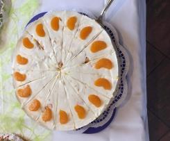 Mandarinen-Joghurt-Torte