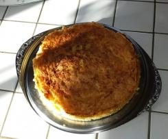 Rhabarber-Birnen-Kuchen (schnell & einfach)