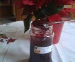 Rotweingelee von Pflaumen-Rotwein-Marmelade