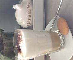 Milchschaum für Latte, Cappuccino mit Rühraufsatz