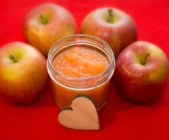 Apfelmus oder Apfelkompott