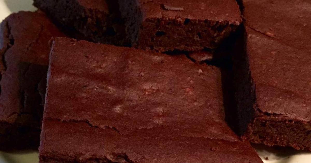 Kidneybohnen Brownies Low Carb Glutenfrei Von Vielya88 Ein