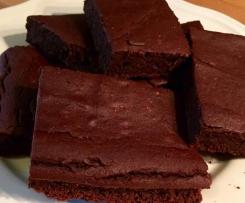 Kidneybohnen-Brownies (low carb, glutenfrei)