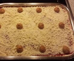 Amarettini Spaghettieis Nachtisch