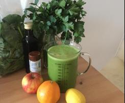 Vitamin Saft Smoothie Grün