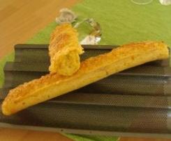 Karotten-Dinkel-Baguette