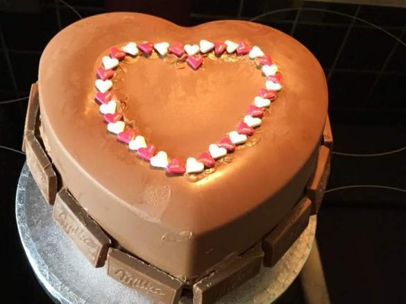 Muttertag Pinata Aus Schokolade Von Zuckertina Ein Thermomix