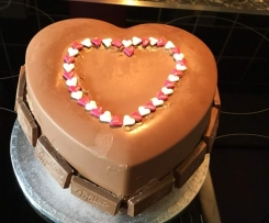 Muttertag Pinata aus Schokolade