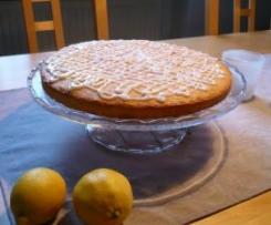 Feine Zitronen-Tarte mit Lemon Curd