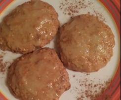 Kürbis Cookies mit     Ingwer-Glasur