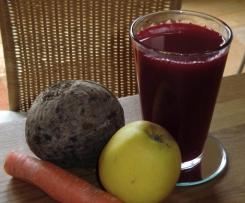 Rote Bete Apfel Möhren Saft