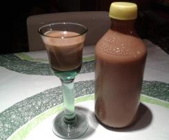 Weihnachtlicher Schoko-Sahne-Rum-Likör