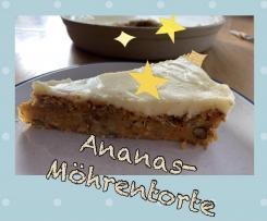 Ananas-Möhrentorte