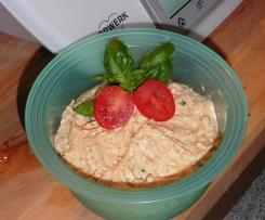 Paprika-Tomaten Brotaufstrich