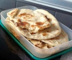 Pitta Brot aus der Pfanne