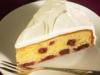 Kirschkuchen mit Crème-fraîche-Guss