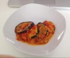 Zuccini  oder Auberginen Lasagne/ Auflauf sehr lecker