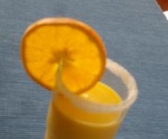Variation von Mango-Orangen-Lassi mit Pimms