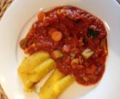Gemüse-Fischsoße
