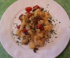 Kartoffelsalat mediteran