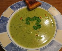 Kopfsalat Creme Suppe alla Mona