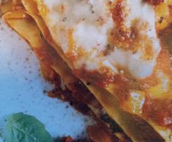 Saftige Chorizo-Lasagne