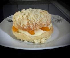Puddingplätzchen  mit Mandarinen