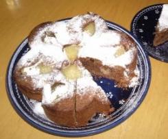 Birnenkuchen auf die Schnelle