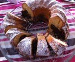 WW Marmorkuchen mit Apfelmus statt Butter