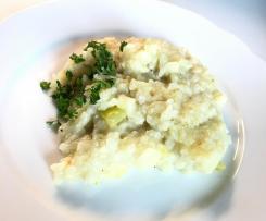 Zucchini-Kohlrabi-Risotto