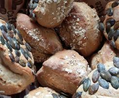 Variation Dinkel-Kartoffelbrötchen