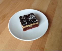 Variation Schoko-Kokos-Blechkuchen
