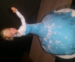 Elsa torte kids