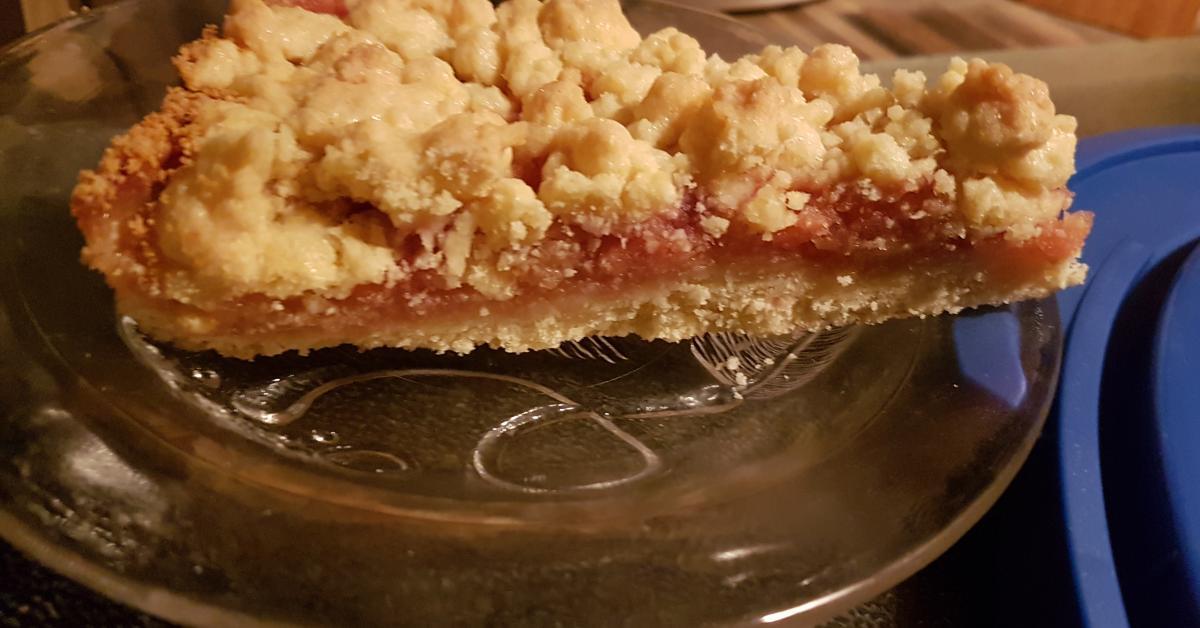 Variation Apfel Streuselkuchen Ruck Zuck Von Rosennicki Ein