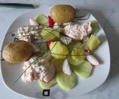 Lachsdipp mit jungen Kartoffeln (LLID)